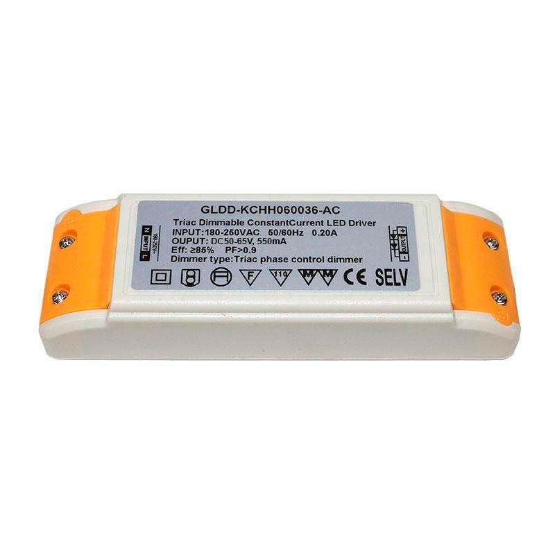 Driver para panel LED DC50-65V/40W/550mA Regulable, Regulable